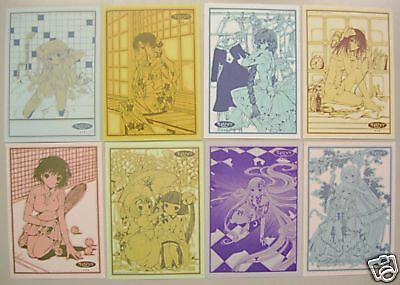 Chobits Postcard set of 8 official CLAMP promo anime Chii etc