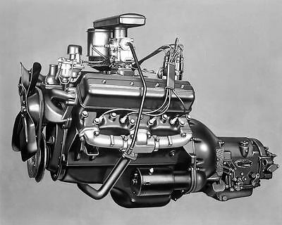 1951 Studebaker Commander V8 Engine Photo Poster zc6340-X7QM7R