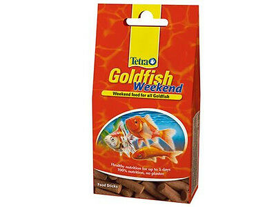 Tetra Goldfish weekend, vacation food, weekend food for all goldfish, 10 sticks • EUR 3,60