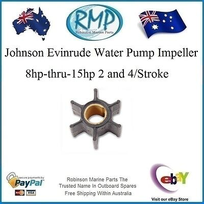 A Brand New Johnson Evinrude Water Pump Impeller 8hp-15hp 2 & 4/Stroke R 386084