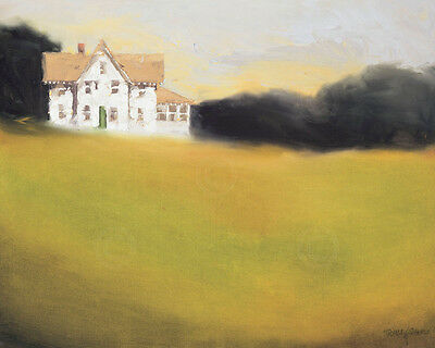 LANDSCAPE ART PRINT - Link to the Past - Thomas Stotts Country Farm Poster 28x24