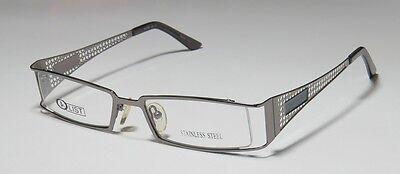 NEW A-LIST 18 46-19-135 SILVER VISION CARE STAINLESS STEEL EYEGLASSES/FRAMES !!
