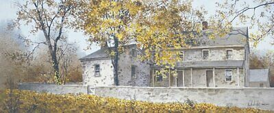 COUNTRY ART PRINT - A Blanket of Gold by Ray Hendershot 35.5x18 Poster