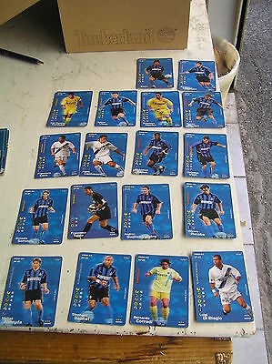 Football Champions 2002 2003 18 Card Inter Ottime