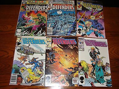 The Defenders Lot #88,103,142,148,150,151 VF/NM 9.0 1980-1985 See my store