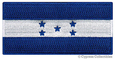 HONDURAS FLAG embroidered iron-on PATCH CATRACHO CENTRAL AMERICAN EMBLEM