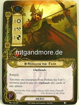 1x Dwalin  #001 Lord of the Rings LCG Khazad-Dum dt.