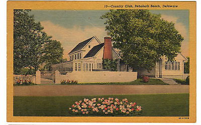 1953 postcard- Country Club, Rehoboth Beach, Delaware