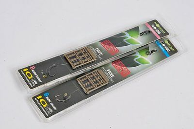 Korda NEW Ready Pre Tied Fluorocarbon IQ D Rig Carp Rigs x3 *All Sizes & Types*