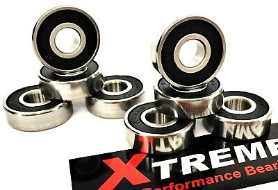 16 pack 627 RS ABEC 9 Xtreme HIGH PERFORMANCE BEARINGS ROLLER SKATE INLINE QUAD