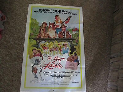 Framable Movie poster, The Magic of Lassie, Original, Mickey Rooney, 1979