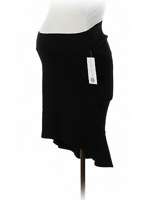 New Japanese Weekend Maternity Professional Ponte Career Sassy Suit Skirt S 6 8