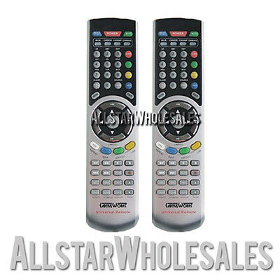 2x CaptiveWorks Universal Remote Control CW600s CW650s CW700s CW800s & Premium