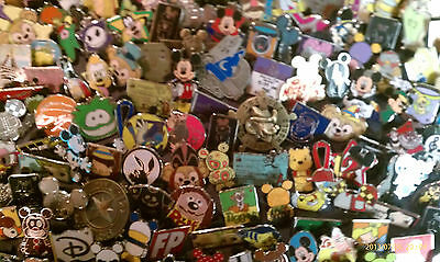 Disney Trading Pins-Lot of 25-No Duplicates-LE-HM-Rack-Cast-Free Shipping-1
