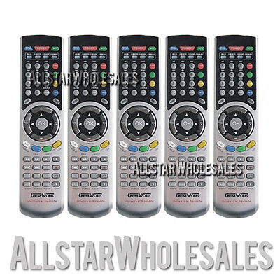 5x CaptiveWorks Universal Remote Control CW600s CW650s CW700s CW800s & Premium
