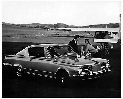 1965 Plymouth Barracuda Automobile Photo Poster zc7275-LE16BJ