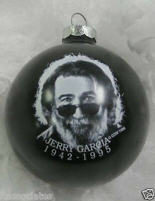 Jerry Garcia Memorial Limited Edition Collectible Ornament ~~~New~~~ 1996 Black