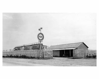 1941 Pure Oil Gas Station Factory Photo Benson NC ch2334
