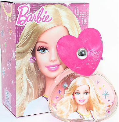 Barbie 3.4 Oz Edt Spray For Kid's By Barbie New In A Box