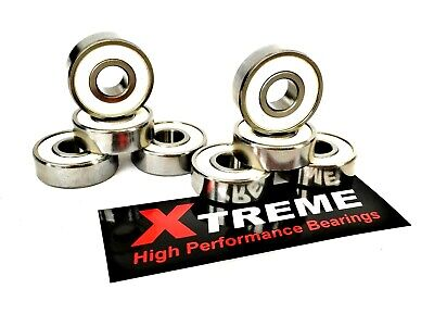 *16 Pack 627 RS [7mm] ABEC-9 XTREME STAINLESS STEEL BEARINGS QUAD SKATES INLINE