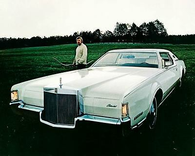 1972 Lincoln Continental Automobile Photo Poster zc7833-4ITETM