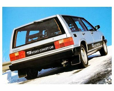1980 ? Volvo Safety Concept Car Photo Poster zc8075-XMBJG2