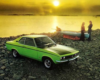 1973 Opel Manta SR Automobile Photo Poster zc8188-3HH3FH