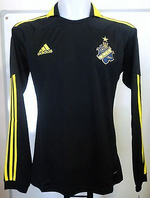 Aik Stockholm 2010/11 L/s Home Shirt By Adidas Adults Size Xl Brand New