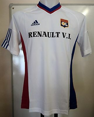 Olympic Lyon Anniversary Home Shirt By Adidas Size Adults Xl Brand New With Tags