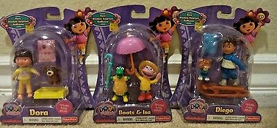Dora The Explorer Window Surprises Dora Diego Boots Isa Pets 2010 *new*