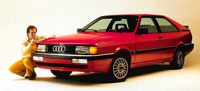 1985 Audi Coupe GT Factory Photo c1504-ZB88JL