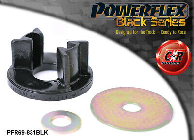 Scion FR-S Powerflex Black Rear Diff Rear Right Mount Insert PFR69-831BLK