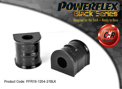 Volvo S40 04 on Powerflex Black Front ARB-Chassis Bushes 21mm PFR19-1204-21BLK