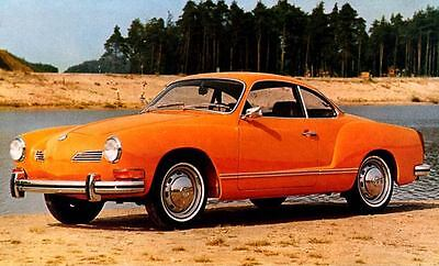 1973 Volkswagen Karmann Ghia Coupe Factory Photo c2114-MOOEKR