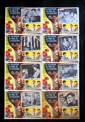 """""""HE DARK AT THE TOP OF THE STAIRS"""" ROBERT PRESTON DOROTHY McGUIRE LOBBY CARD SET"""