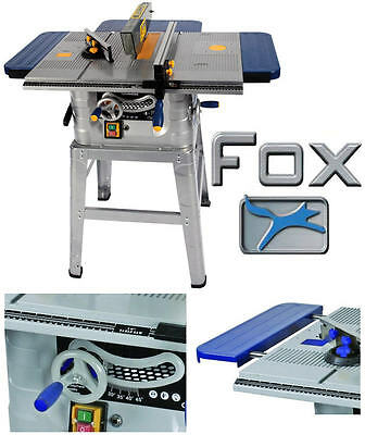 "FOX HEAVY DUTY 10"" 250mm Table Bench Wood Saw & TCT Blade + Leg Stand F36-527"
