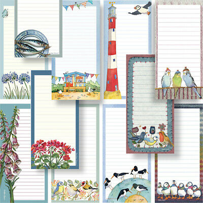 MAGNETIC SHOPPING LIST NOTEPAD / Home Message Pad Kitchen Magnet Memo Stationery
