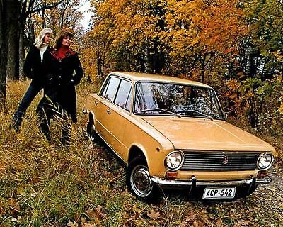 1977 Fiat Lada Factory Photo c2476-9EYEP6
