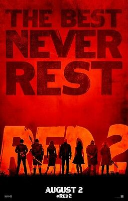 Red 2 - original DS movie poster - D/S 27x40 Advance