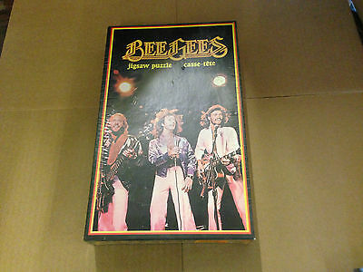 BEE GEES jigsaw puzzle casse-tete 1979 SEALED 11x17 RARE Vintage