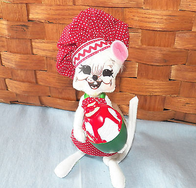 "NWT 2009 Annalee Christmas Doll - 6"" Chef Mouse"