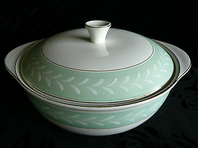 "BURLEIGH WARE - ""WINDSOR"" - VEGETABLE TUREEN WITH LID"
