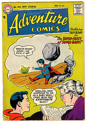 Adventure Comics #231 4.0 Off-White Pages Silver Age Superboy