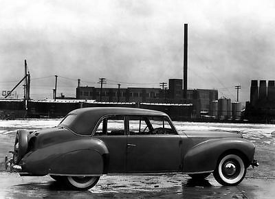 1940 Lincoln Continental Coupe Factory Photo c3005-P4RFL5