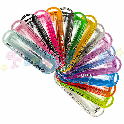Rainbow Dust Click-Twist Brush Edible Metallic Food Colour Paint Pen Sugarcraft