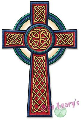 Celtic Passion Cross Decal Sticker Irish Ireland Auto