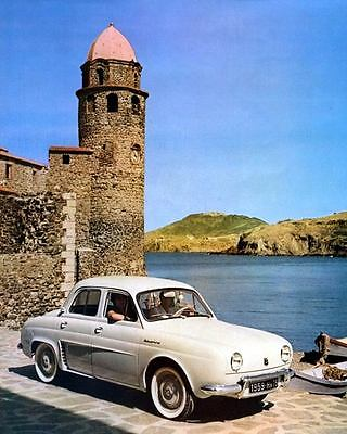 1959 Renault Dauphine Factory Photo c3513-9EOXFQ