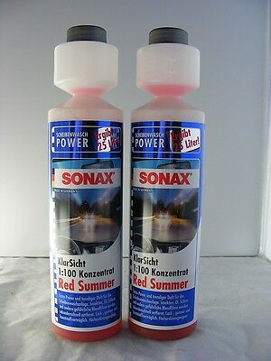 Sonax Klar Sicht Konzentrat Red Summer 2 x 250 ml 266141