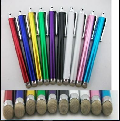 10 x ULTRA SMOOTH Micro-Fibre Tip STYLUS PEN for ALL Mobile Phones,Tablet,IPAD
