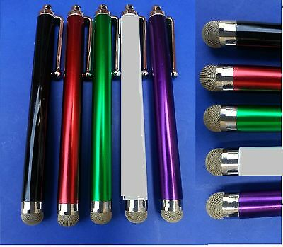 5 x ULTRA SMOOTH Micro-Fibre Tip STYLUS PEN for ALL Moble Phones,Tablet,IPAD